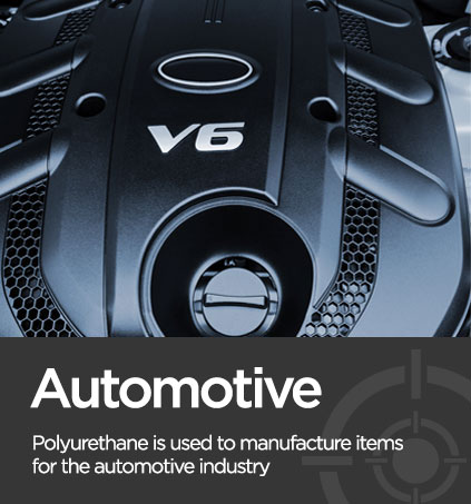 automotive image associated with environmentally friendly polyurethane
