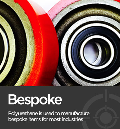bespoke roller image associated with environmentally friendly polyurethane