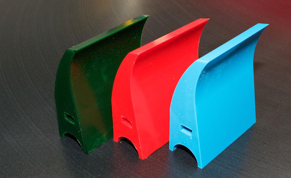 polyurethane scraper blades for many applications