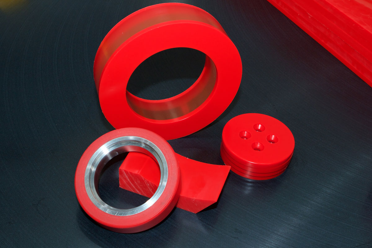 Polyurethane Rollers produced for a specific order